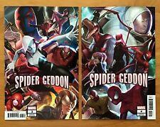 Spider-Geddon 3,4 2018 B Variants In-Hyuk Lee Covers 1st Prints Marvel NM+
