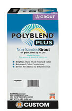 Custom Building Products PolyBlend Plus Non-Sanded Grout 10 lbs