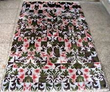 Hand Knotted Modern Carpets in wool and Bamboo Silk 6.0 x 9.0 FT Multi-colored