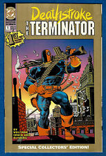 DEATHSTROKE THE TERMINATOR # 1  - DC 1991  (vf-) 2nd Print