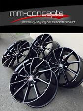 20 Zoll MM Spider Alufelgen für Audi A4 S4 A5 S5 A6 S6 A7 A8 Q5 SQ5 Schwarz Neu