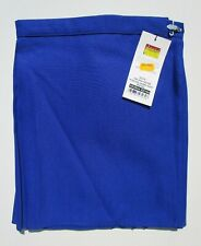 "david LUKE Girls School Games PE GYM Skirt Pleated Royal Blue Waist W24"" BNWT"