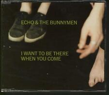 ECHO & THE BUNNYMEN I Want To Be There When You Come 3 TRACK UK CD SINGLE