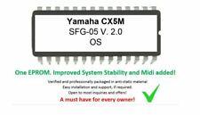 Yamaha CX5M - V 2 Upgrade Firmware Update Eprom [SFG-01 -> SFG-05] Midi Features