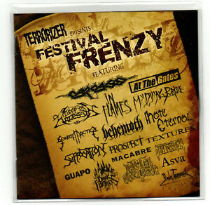 V/A - Terrorizer Presents Festival Frenzy CD