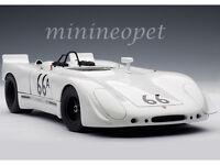 AUTOart 87073 STEVE MCQUEEN 1970 PORSCHE 908/02 #66A 1/18 DIECAST MODEL WHITE