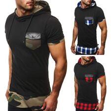 figurbetonte rmellose herren t shirts mit kapuze g nstig. Black Bedroom Furniture Sets. Home Design Ideas