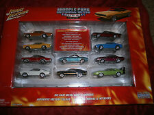 JOHNNY LIGHTNING  MUSCLE CARS U.S.A. COLLECTION SET OF 10 1:64 DIE CAST CARS