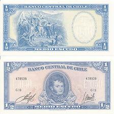 Chile - 1/2 Escudo 1962 - 1975 UNC - Pick 134A