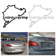 Nurburgring Map Sticker Universal Racing Truck Car Window Wall Laptop Decal New