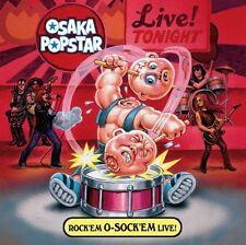 Osaka Popstar - Rock'em O-Sock'em Live [New CD]