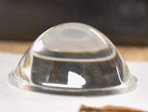 2 Stück LED Linse 52mm Plankonvex Glas Linse  Konvex Linse Kondensator