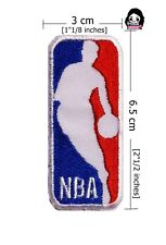 NBA Basketball Sport Logo(3×6.5cm) iron-sewing-patch on fabric
