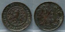 Nederland - The Netherlands halve cent 1894 -  1/2 cent 1994