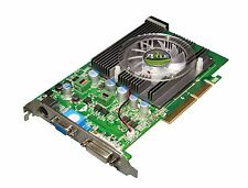 Axle GeForce 6200, 256 MB DDR, DVI, VGA, S-video, ax-62a/256 d 2 a 4 cdht