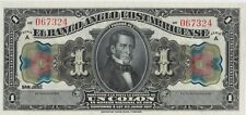 More details for s121r costa rica 1917 one colon banknote in near mint condition.