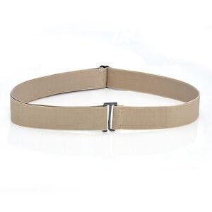 Invisible Belt Flat Buckle Elastic Waist Belt No Show Women Belt Adjustable Belt