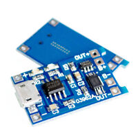 10Pcs/set 5V Micro USB 1A 18650 Lithium Battery Charging Board Charger Module