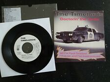 The KLF, The Timelords, Doctorin' The Tardis, 1988, 7'', EX/EX, promo copy