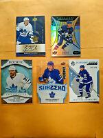 Maple Leafs Rookie Lot - Sandin Liljegren Dermott Trilogy Auto Future Watch /999