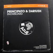 "Principato & Dariush - Snowboard 12"" VG+ AZNY220 UK 2005 Vinyl Record"