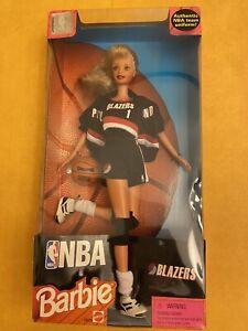 NBA Barbie Portland Trail Blazers 1998 OEM Uniform 20720