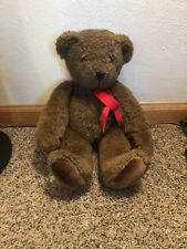 """Vermont Teddy Bear Co 1984 Teddy Jointed Friend for Life Limited Edition 16"""""""