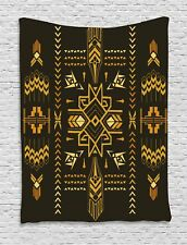 Geometric Tapestry Tribal Vintage Aztec Print Wall Hanging Decor 60Wx80L Inches