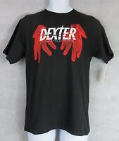 Dexter Mens T-Shirt New Black Not Exactly the Boy Next Door Officially Licensed