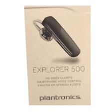 Plantronics Explorer 500 Wireless Bluetooth Headset Mobile Voice Clarity - Black