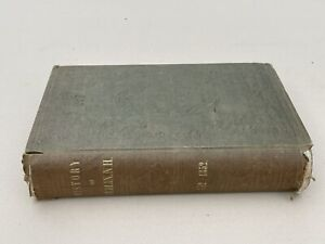 Very Rare 1850s Dublin New Hampshire Book With Thomas Fisk Fold Out Map