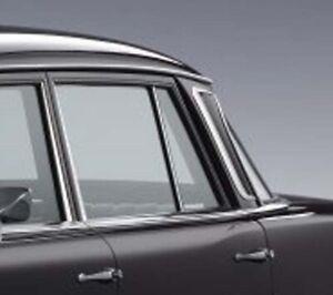 Mercedes Door Window Glass Rear New OE W110 W111 W112 Sedan SWB