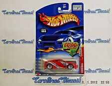 """2002 Hot Wheels #66 Tuners Series #4 of 4 (red) """"TOYOTA CELICA"""" ~ C1"""