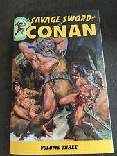 The Savage Sword Of Conan Volume 3 tpb Brand New RARE OOP DARK HORSE