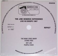 "JIMI HENDRIX EXPERIENCE 7"" Live In Europe 1967 4 Track  Wind Cries Mary Hey Joe"