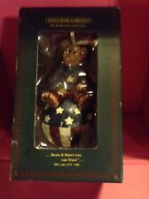 Boyds Bears Patriotic Ornament Eddie Bearmerican Usa Flag Ball #3T/2040
