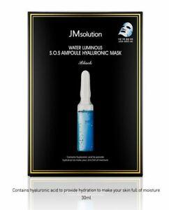 K-beauty [JMsolution] Water Luminous S.O.S AMPOULE HYALURONIC 28ml*10ea
