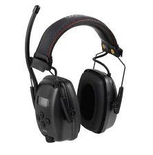 Howard Leight SYNC Digital AM/FM Radio, MP3 input Earmuffs Black - Mowing