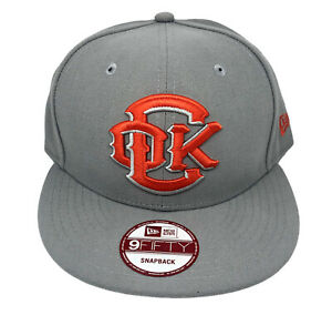 Oklahoma City RedHawks (OKC Dodgers) New Era 9FIFTY Snapback Cap Gray/Orange NWT