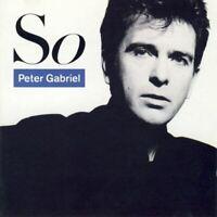 PETER GABRIEL so (CD, album) across, pop rock, synth pop, very good condition,