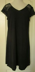 Charter Club Intimates black cap sleeve  Nightgown Size XX-Large