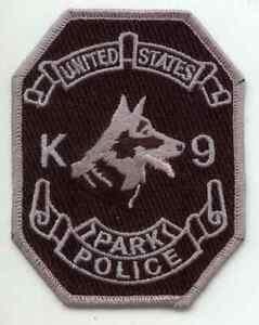 US NATIONAL PARK K-9 Explosive Narcotic Police Dog Canine K-9 US PARK Patch