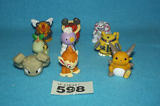 POKEMON SELECTION OF 9 FIGURES 598
