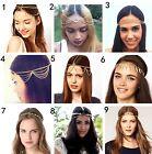 Xmas Womens Crystal Rhinestone Wedding Bridal Forehead Head Hair Band Head Chain