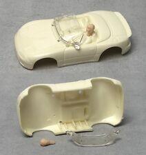 1992 TYCO HO Mazda Miata BLANK TEST SHOT Slot Car BODY & A NICE HEAD! Rare & Odd
