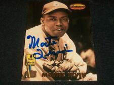 NY Giants HOF Monte Irvin Signed Auto 1993 TWCC Card #146  TOUGH  A17