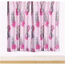 Me to You Tatty Teddy Precious Ready Made Curtains Pink 168cm x 137cm