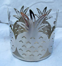 Pineapple Large Jar Metal Candle Holder Aloha Summer Beach Wedding Luau Party