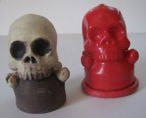 Halloween Moulds for Plaster or Wax