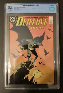 Detective Comics 583, 1988, Direct Edition, CBCS Graded 9.8